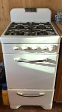 Caloric Vintage Gas Range 20� 1950s Antique