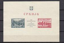 DR, Serbia, Serbien, besetzung, occupation, 1941, block-sheet 2, II, NG