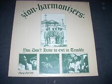 ZION HARMONIZERS LP You don't have to get in trouble Flying Fish NM 1974