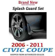 Genuine OEM Honda Civic 2dr Coupe Splash Guard Set 2006-2011     (08P00-SVA-100)