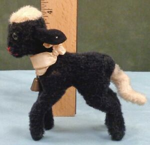 STEIFF SWAPL Lamb / Sheep, Stuffed Toy w/ Original Ear Button, No Tags