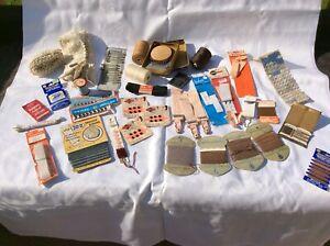 Large Bundle Of Vintage Sewing / Haberdashery Items