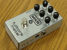 NEW MXR M116 Fullbore Metal Distortion PEDAL Dunlop Effects Stomp Box M-116