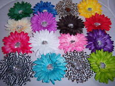 wholesale LOT 6 GERBER daisy FLOWER WEDDING CRAFTS HAIR