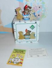 "Charming Tails ""Couldn't Bear Not To Share With You"" Figurine New"