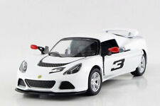 1:32 Lotus Exige S Type 72 Diecast Model Rally Racing Car By Kinsmart White 1/32