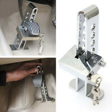 Car Clutch Brake Stainless Strong Security 8 Hole Lock Chrome Anti-theft Device