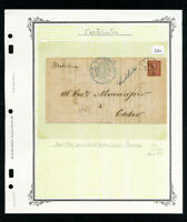 Italy Stamp Cover Cancelled At Piacenza