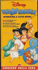 AVVENTURA A TUTTO RITMO  VHS  VIDEO FAMILY  DISNEY  (1997)
