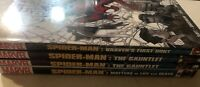 The Amazing Spiderman Hardcover Graphic Novel Lot