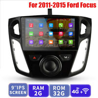 """9"""" Car Radio GPS Navigation Android 8.1 with WIFI for 2012-2017 Ford Focus"""