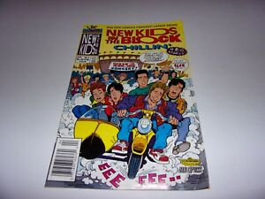 Harvey Rockomics New Kids On The Block April 1991 Issue #4 Chillin'