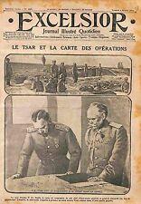 Tsar Nicholas/Nicolas II General Mikhail Vasiliyevich Alekseyev Russia WWI 1916