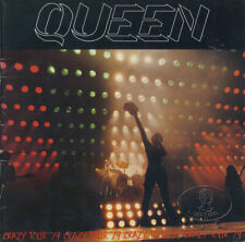 Queen 1979 Crazy Uk Tour Concert Program Tour Book Freddie Mercury