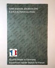 Feuille de joint fibre Aramide AFM à decouper Reinz Haute température, moteur