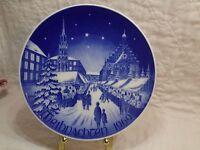 Bareuther Waldsussen Bavaria Germany Christmas Plate Weihnachten 1969 Market