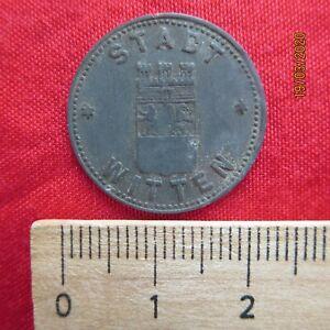 Deutschland - Stadt Witten 10 Pfennig 1917 - Notgeld Kriegsgeld -I