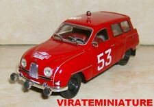 SAAB 95 BREAK 4° RALLYE MONTE CARLO 1961 ERIK CARLSSON IXO MODEL CAR 1/43
