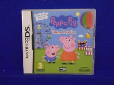 ds PEPPA PIG THEME PARK FUN Encourages Child Development PAL UK REGION FREE