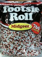 Tootsie Roll ~ Midgees ~ 760 Count ~ 5 Pound Bag ~ Candy,Parties,Pinata