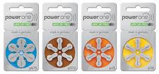 PowerOne Hörgerätebatterien Typ: p10, p13, p312, p675