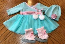 American Girl Bitty Baby Frosty Ice Skating Outfit Ex. Condition 2014