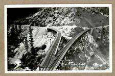 Western Pacific Railroad Train Y Bridge, Keddie California Real Photo Postcard