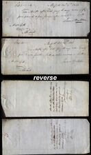 More details for 1841 morpeth promissory notes through lambtons bank, newcastle, bankruptcy exhib