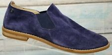 Hush Puppies Womens Blue Analise Clever Slip-on Loafer Shoes Size 11