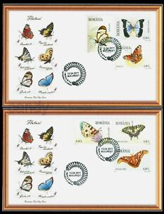 2011 Butterflies,Schmetterlinge,Papillons,Farfalle,Mariposas,Romania,Mi.6509,FDC