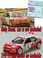 Decal 1:43 Luis Monzon - PEUGEOT 306 MAXI - Rally Corte Ingles 2000