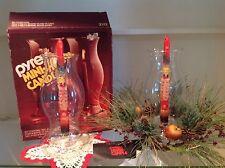 Pyrex Mini-Hurricane-Candle Set with Box