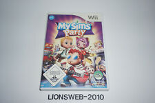 Nintendo Wii Spiel - My Sims Party