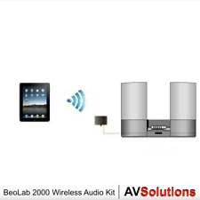 B&O BeoLab 2000 Wireless Bluetooth Audio Stream Kit (AUX) (1 M. White ML Cable)