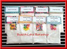 LALALOOPSY OVEN Mixes 8 Homemade Cake & Frosting Mixes / 48 Mini Cupcakes