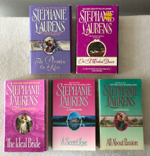 Lot of 5: STEPHANIE LAURENS Cynsters Romance Paperback Novels, 2000-04