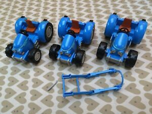 3 x CORGI Big Blue tractor toys from Little Red Tractor TV series Spares/repairs