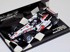 1/43 Minichamps F1 Formula 1 B.A.R. Honda 007 A. Davidson Malaysian GP 2005