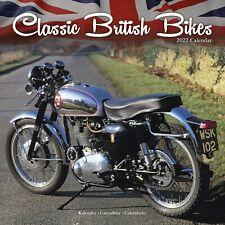 Classic British Bikes Calendar 2022 Bike Wall 15% OFF MULTI ORDERS!