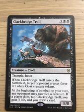 MTG Magic the gathering Sammlung 1x Clockbridge Troll  aus Throne of Eldraine