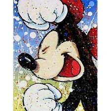 Diamond Mosaic Full 5D Drill Happy Mickey Mouse Leisure Kits Art Embroidery