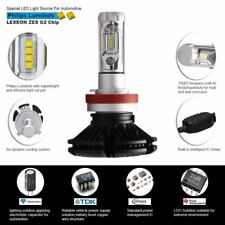 US 2x Auto Car Headlight Bulbs 9006 HB4 12000LM High Low Beam Philips ZES Lamps