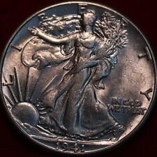 Uncirculated 1941 Philadelphia Mint Silver Walking Liberty Half