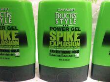 3 X Garnier Fructis Style Spike Explosion Power Gel, 9 Fluid Ounce Each NEW.
