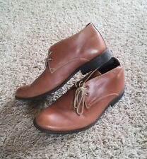 Clarks Brown Leather Lace up Mens size 11 EUC Original Desert Boot