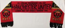 Man Utd Rare 1994 Double Winners Scarf Manchester United