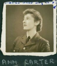 1942 RAF Turnhouse 'Ann Carter' WAAF  QS.1201