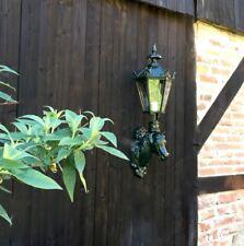 Aussenlampe Pferdestall, Aussenleuchte Gartenlampe Pferdekopf, Pferde Lampe