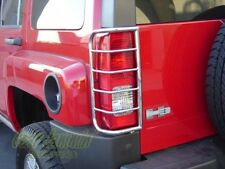 Hummer H3 Stainless Steel Tail Light Guards protector 2006 - 2010