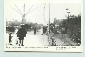 Old Southport Pleasure Grounds c1913 C1114 Postcard Unposted FD